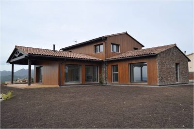 L'Estrella Dels Vents. Cuarta casa certificada Passivhaus en Cataluña. Cedida por Guillermo Allegrini.