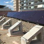 Alumnos de la Universidad Politécnica de Cataluña instalan placas fotovoltaicas para autoconsumo energético