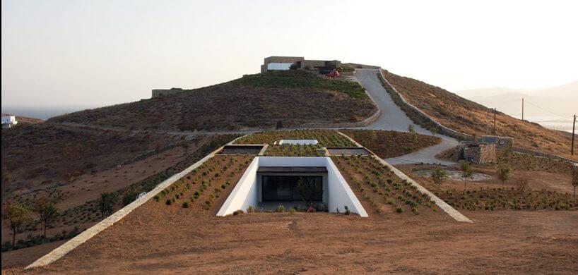6 Casas Mimetizadas Con La Naturaleza Arquitectura Sostenible