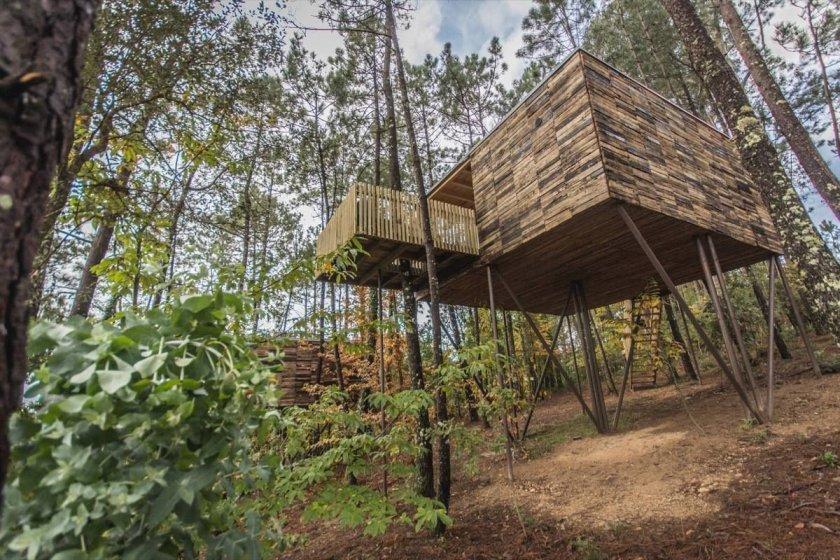 5 Cabanas En Los Arboles Para Disfrutar De Una Experiencia - Cabaas-de-madera-en-arboles
