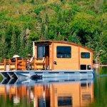Una casa flotante y ecológica