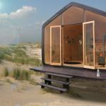 Edificios sostenibles fabricados con cartón