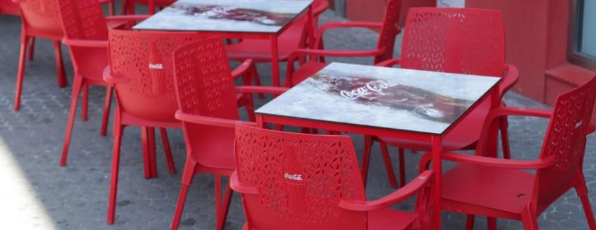 Cola-Cola terrazas sostenibles