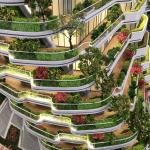 Agora Garden, los jardines verticales como respuesta al calentamiento global