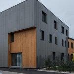La fachada ventilada CUPACLAD, protagonista en un edificio pasivo de la Bretaña francesa