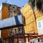 Barcelona albergará un edificio público sostenible construido con contenedores marítimos