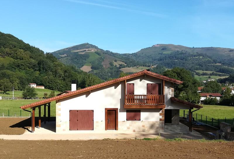 Vivienda unifamiliar en Irurita (Navarra)