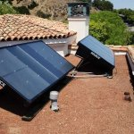 Energía solar para generar agua del vapor de aire