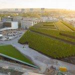 Düsseldorf ya cuenta con el edificio verde más grande de Europa