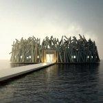 Arctic Bath, un impresionante hotel flotante sostenible en Suecia