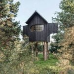 Una casa de té sostenible diseñada por el arquitecto japonés Terunobu Fujimori