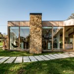 Nitel House, una vivienda integrada en la naturaleza asturiana