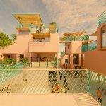Un proyecto de viviendas modulares hechas con plástico reciclado