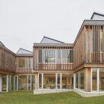 El nuevo edificio de la Academia Alemana de Cooperación Internacional: modular y regenerativo