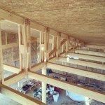 Una casa de paja pionera en Extremadura