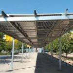 Pérgolas fotovoltaicas en Valencia, una propuesta sostenible de participación ciudadana